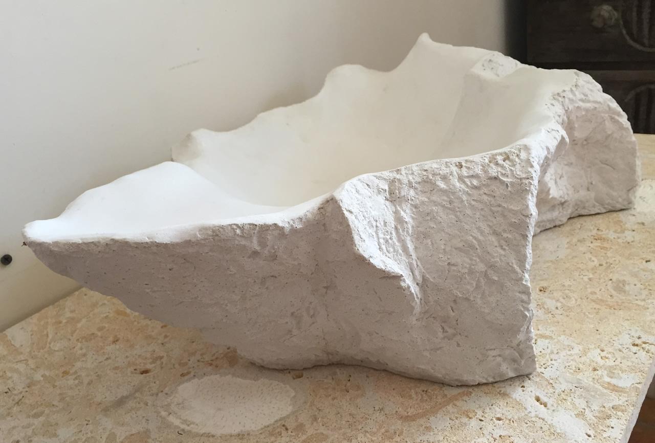 Lavamano rocky mountain deco rock for Hormigon pulido blanco